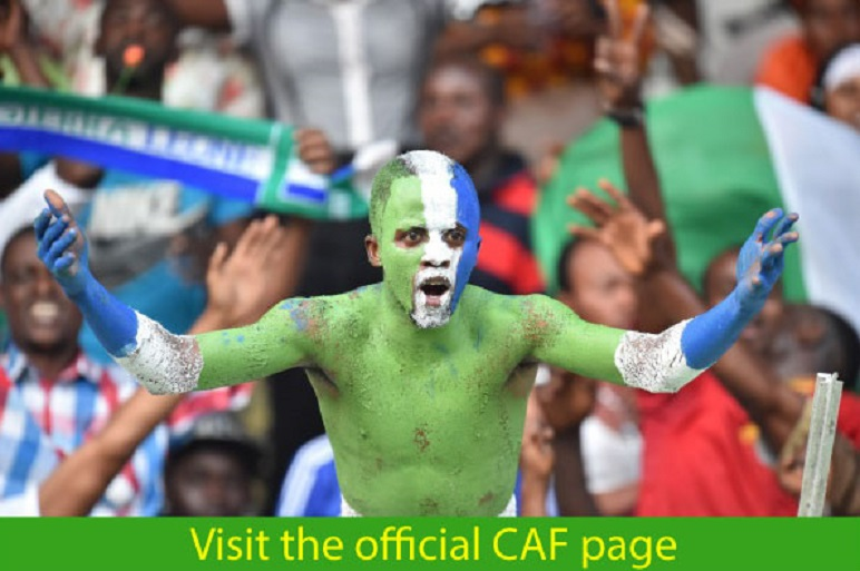 Photo of Sierra Leone official CAF Page