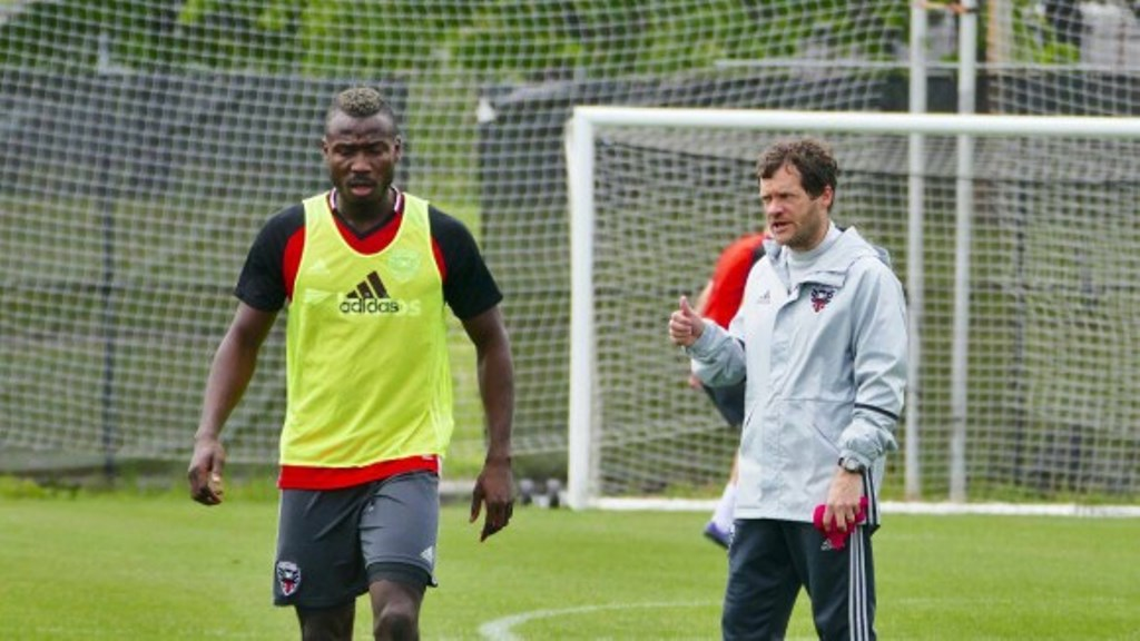 Alhaji Kamara joins DC United: Black and Red confirm move