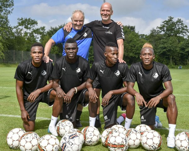 Kwame Quee, Yeami Dunia & two others desperate to seize chance at Randers FC