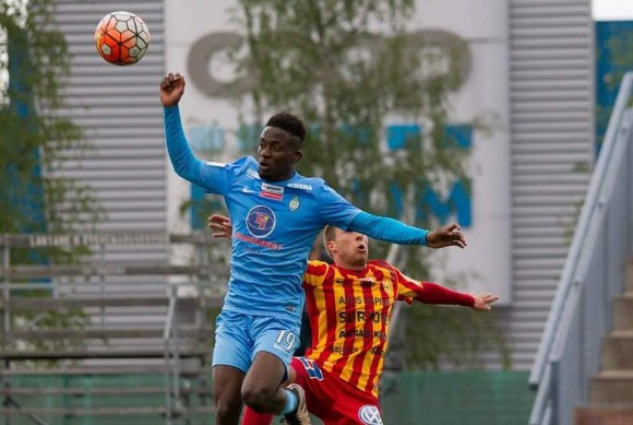 Turay scores first Superettan hat-trick for AFC United against Syrianska