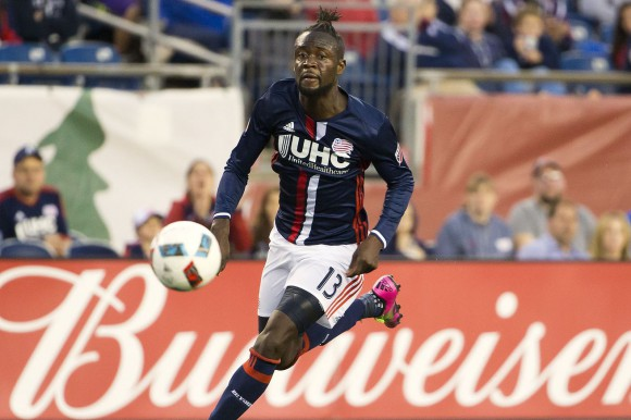 New England Revolution striker Kei unfazed by goal drought