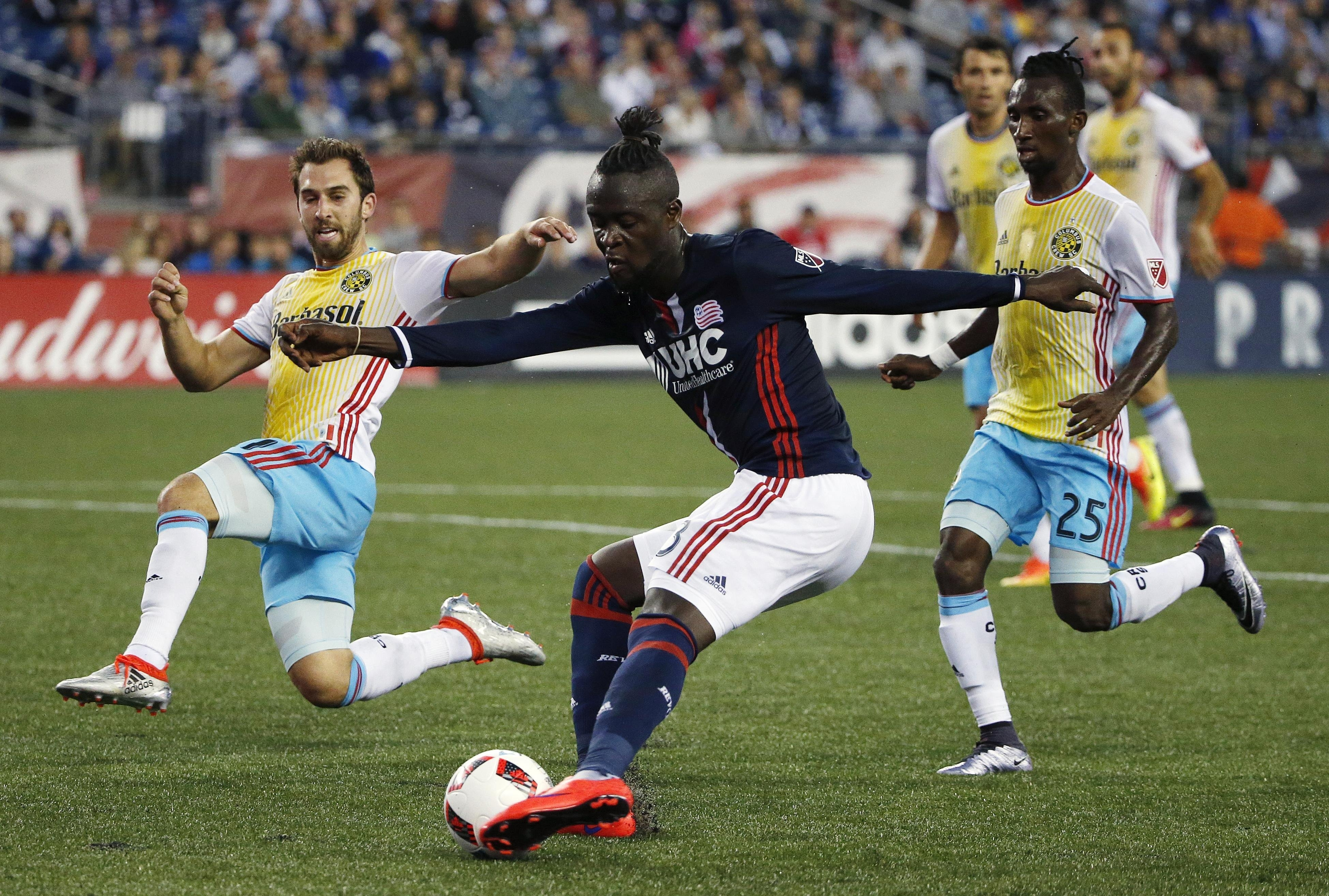Kamara's Revs to host Chicago Fire in U.S. Open Cup semi-final