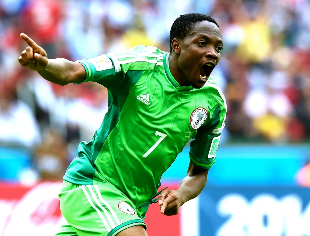 Leicester City agree deal to sign Nigerian striker Ahmed Musa