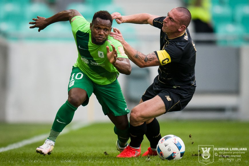 UEFA Champions League: Julius Wobay says is fit and ready to run Olimpija's midfield