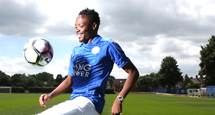 Leicester new signing Ahmed Musa delighted to sign for Premier League champions