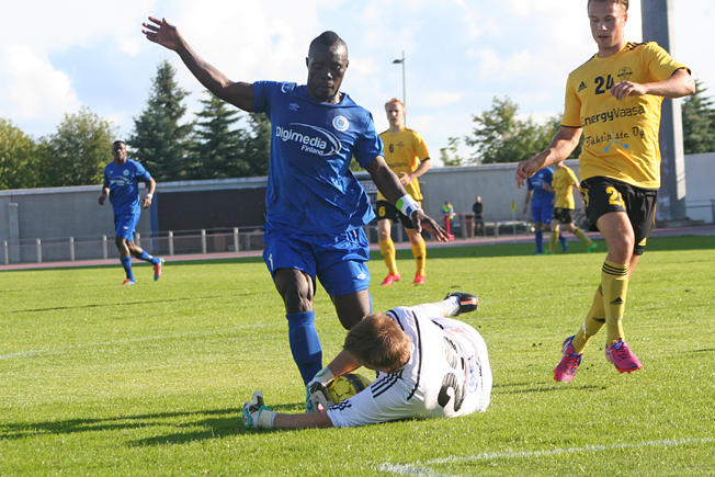 OPS midfielder Abdul Sesay aiming for 'double figures'