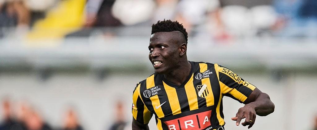 Former Orebro striker Alhassan Kamara scores first goal for BK Hacken