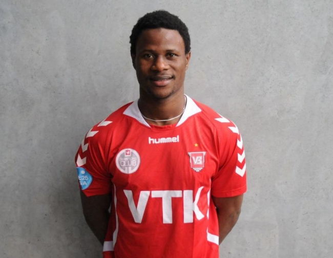 Vejle confirm the signing of Sierra Leone striker Sheka Fofanah
