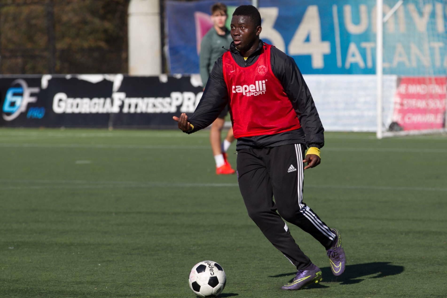 Atlanta Silverbacks skipper Abdul-rahman Bangura returns to training ahead of pre-season