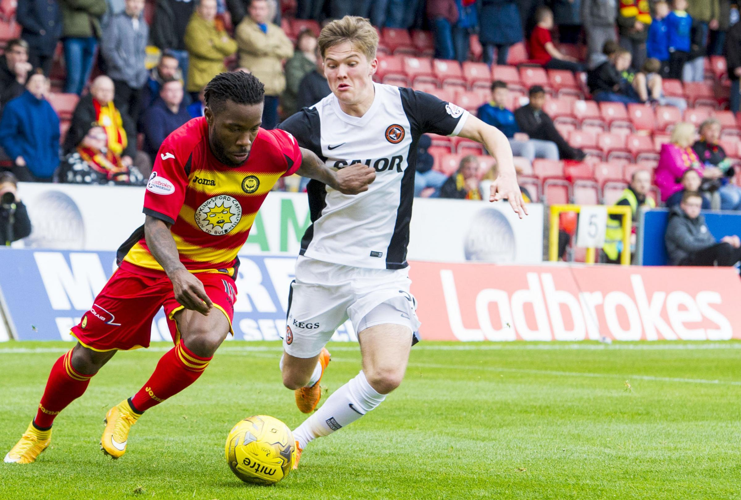 Dumbuya returns to action for Partick Thistle after injury lay-off