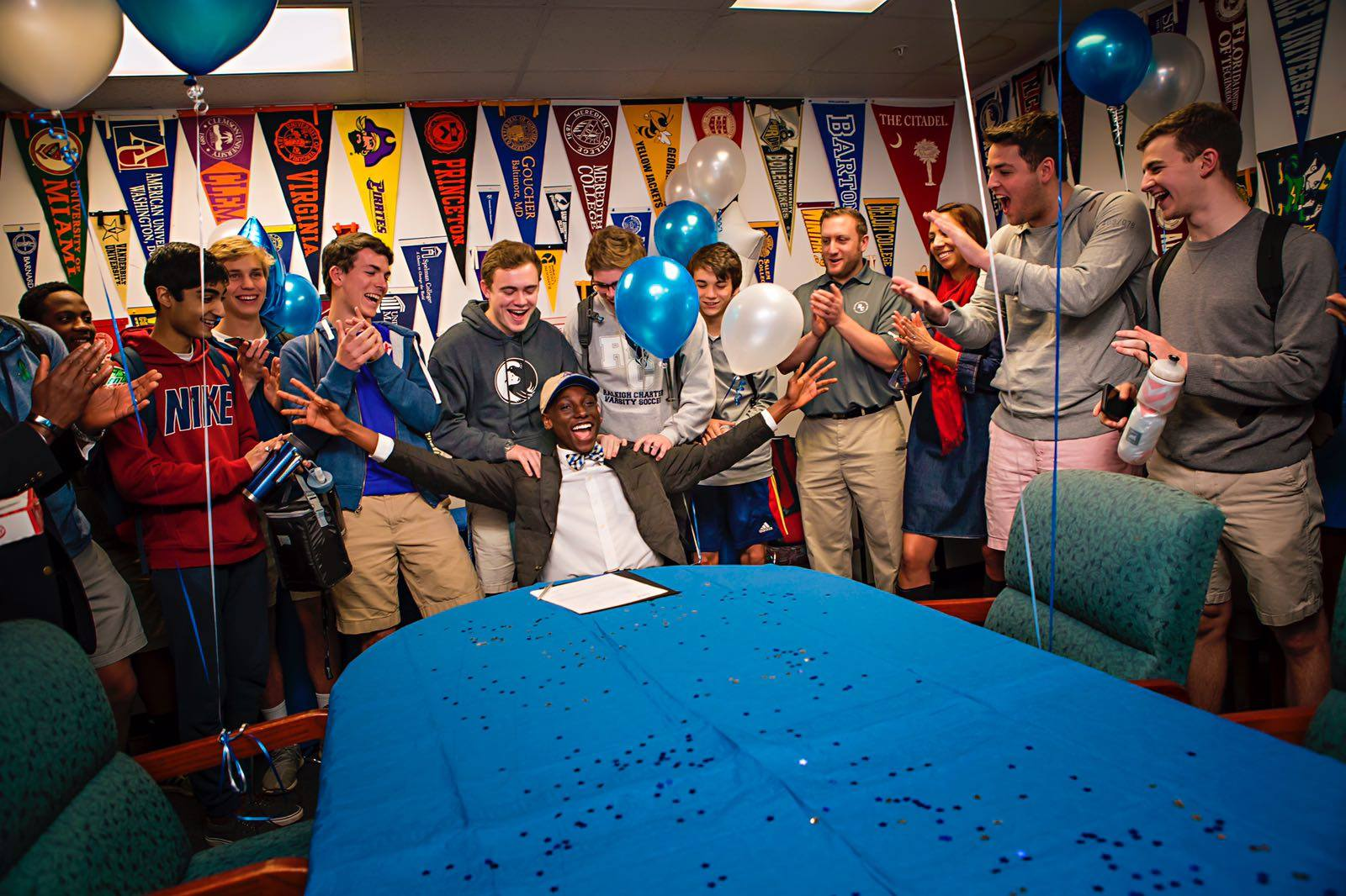 US Soccer phenomenon with Salone roots signs for University of North Carolina