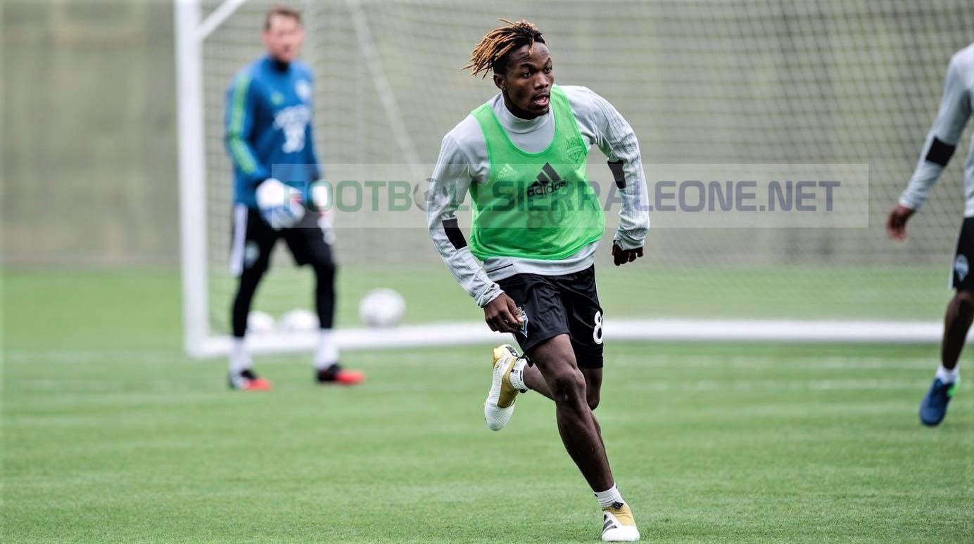 Seattle Sounders striker open to Sierra Leone call-up