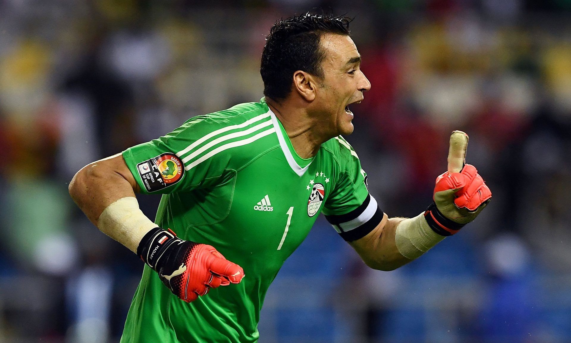 Veteran shot-stopper El Hadary hero as Egypt reach Afcon final