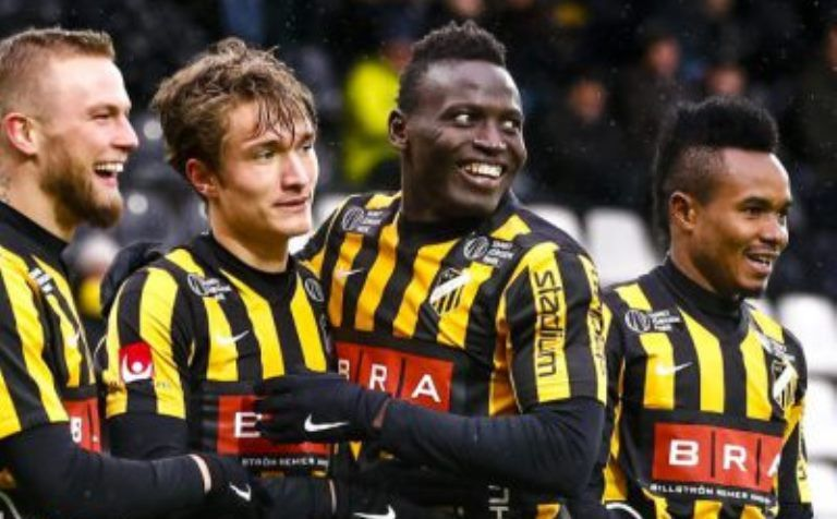 Kamara scores for Hacken in Cup victory over Atvidabergs