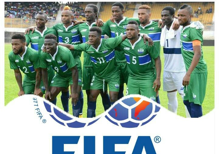 Sierra Leone remains static at 113 in latest FIFA  rankings