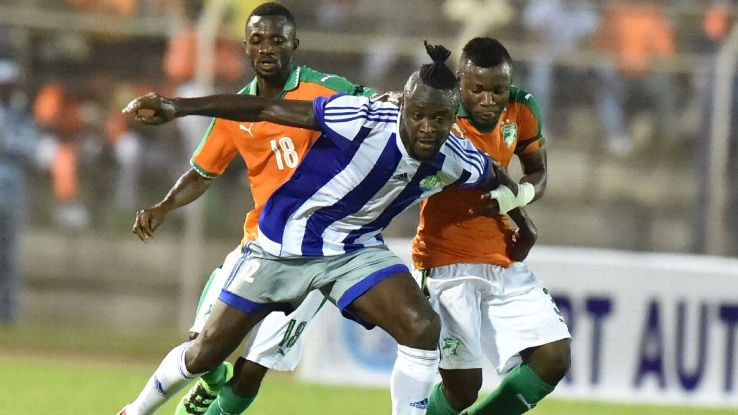 Sierra Leone striker Kei Kamara launches website