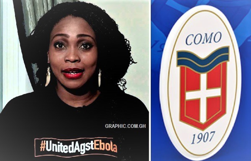 Essien's wife is the new owner of Italian side Como Calcio 1907