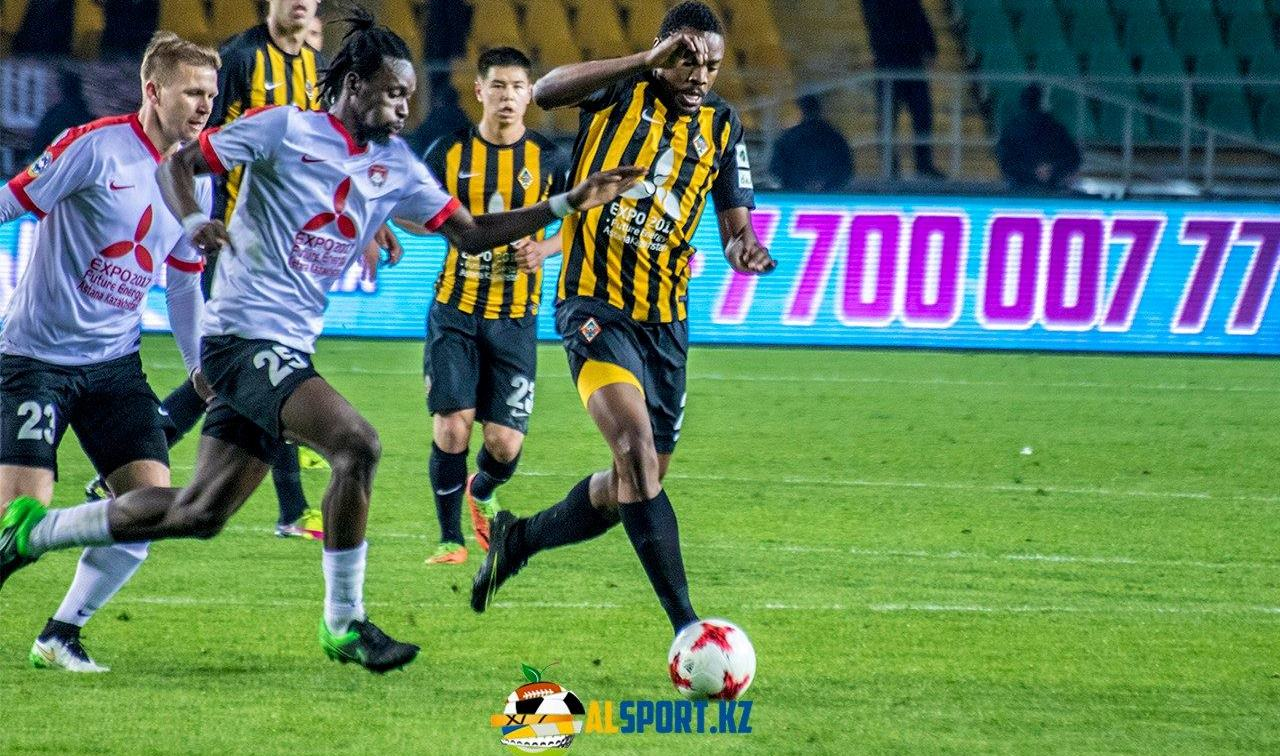 John Kamara 'happy with performance' against K Almaty