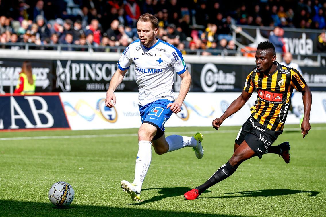 Striker Kamara on target in Häcken's defeat at home