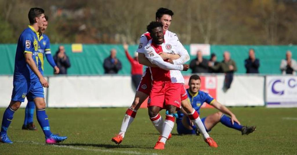 Abdulai Baggie optimistic over Poole Town's play-off bid