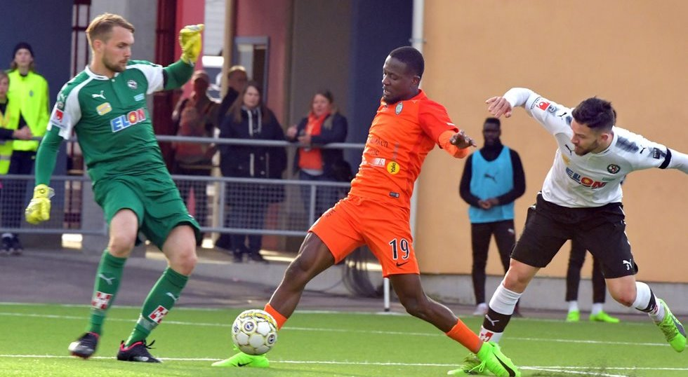 Buya Turay disappointed with draw despite scoring twice