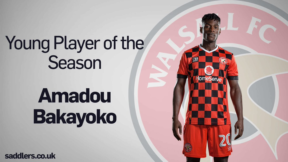 Sierra Leone-born Bakayoko scoops Walsall Young Player of the Year