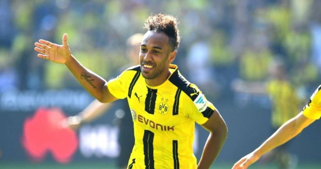 Gabon's Aubameyang ends Bundesliga season as top scorer