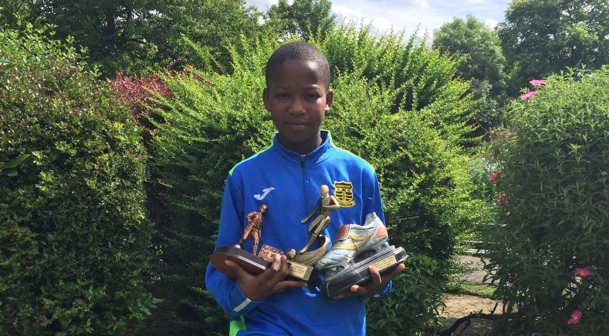 Sanusie Jabbie doubles the treble at Cheshunt FC in England