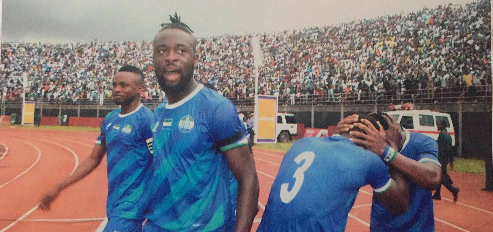 Kei Kamara hails Sierra Leone fans as 'Twelfth Man'