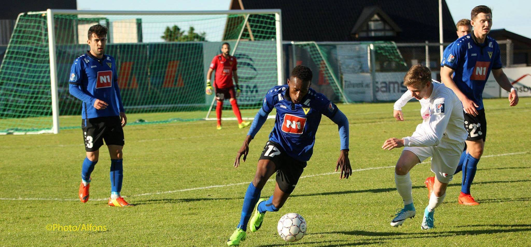 Kwame Quee scores second goal of the season against UMF Stjarnan