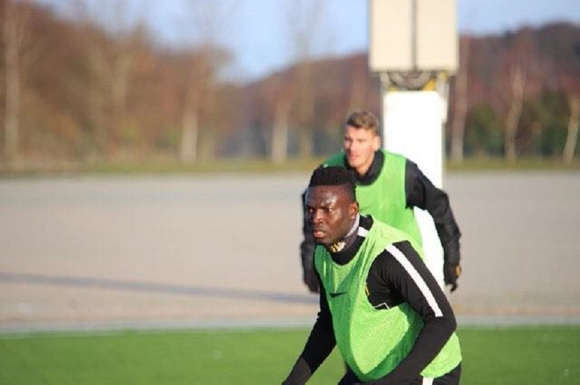 Striker Kamara returns to full BK Häcken training