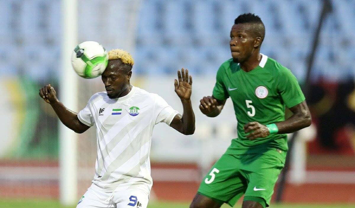 Striker Donald Wellington was in action for Sierra Leone in WAFU Cup in Ghana 2017