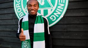 Listen to Christian Moses's first interview as Viborg striker