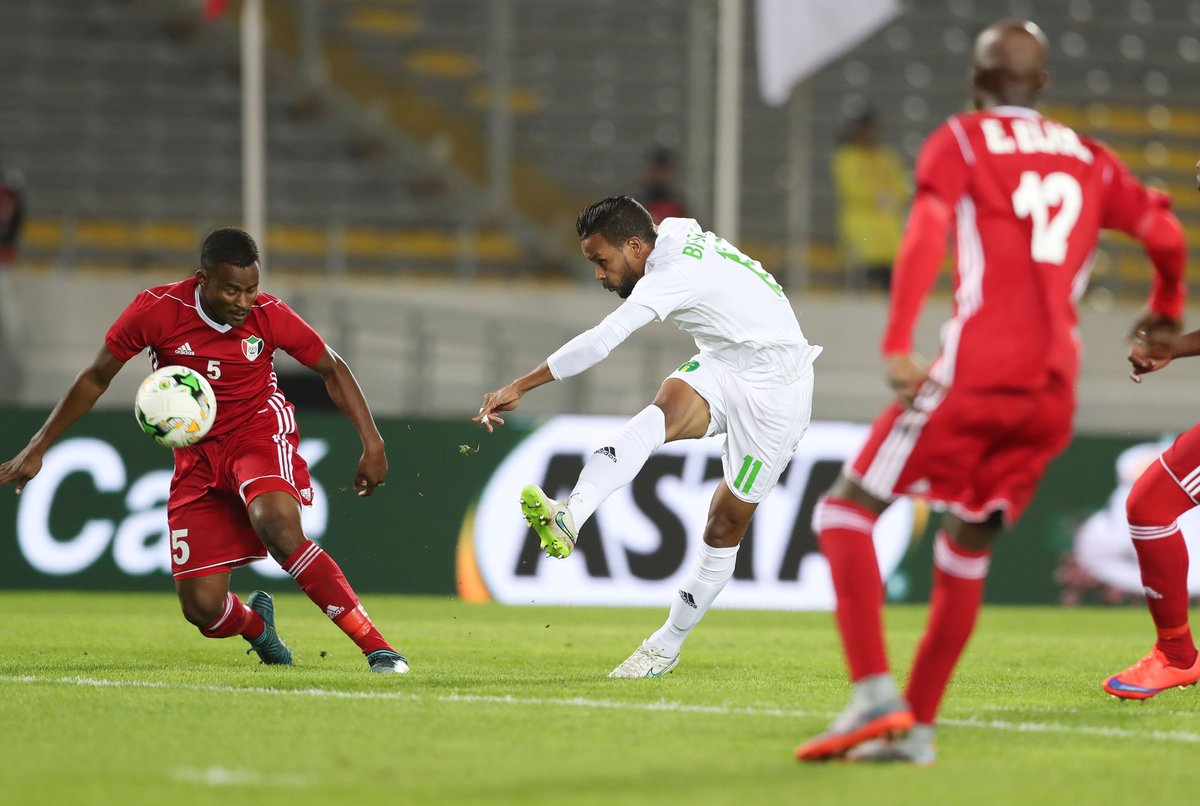 Actions from Sudan 1-0 Mauritania #TotalCHAN2018