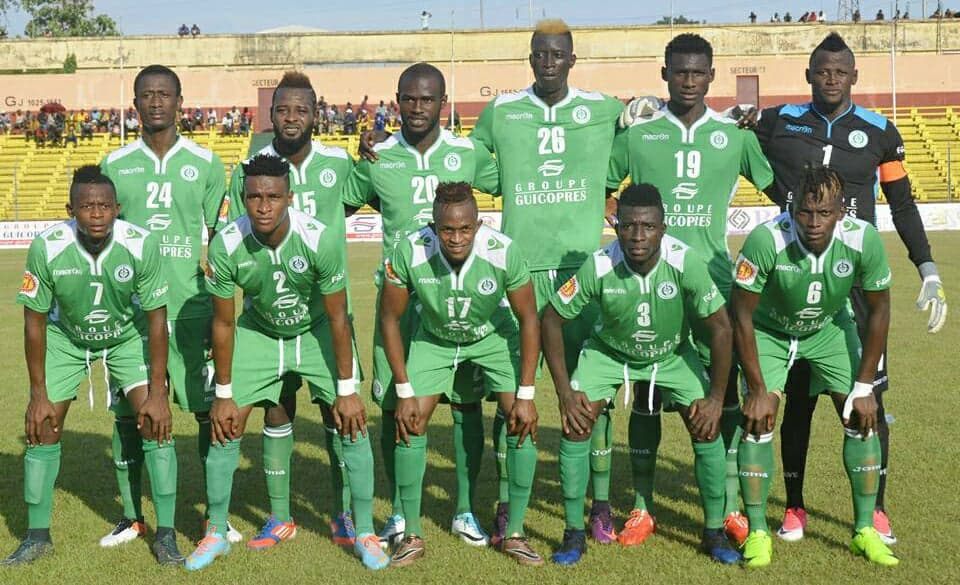 "alt=""Hafia going into this weekend continental tie highly motivated after winning four of their last five League matches"""