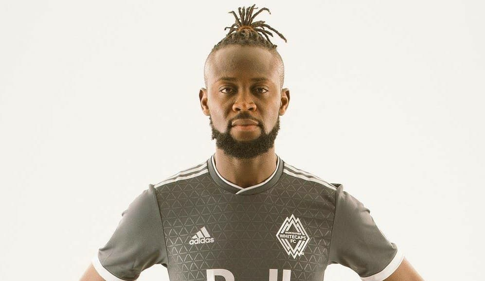 alt=Major League veteran Kei Kamara in Whitecaps jersey