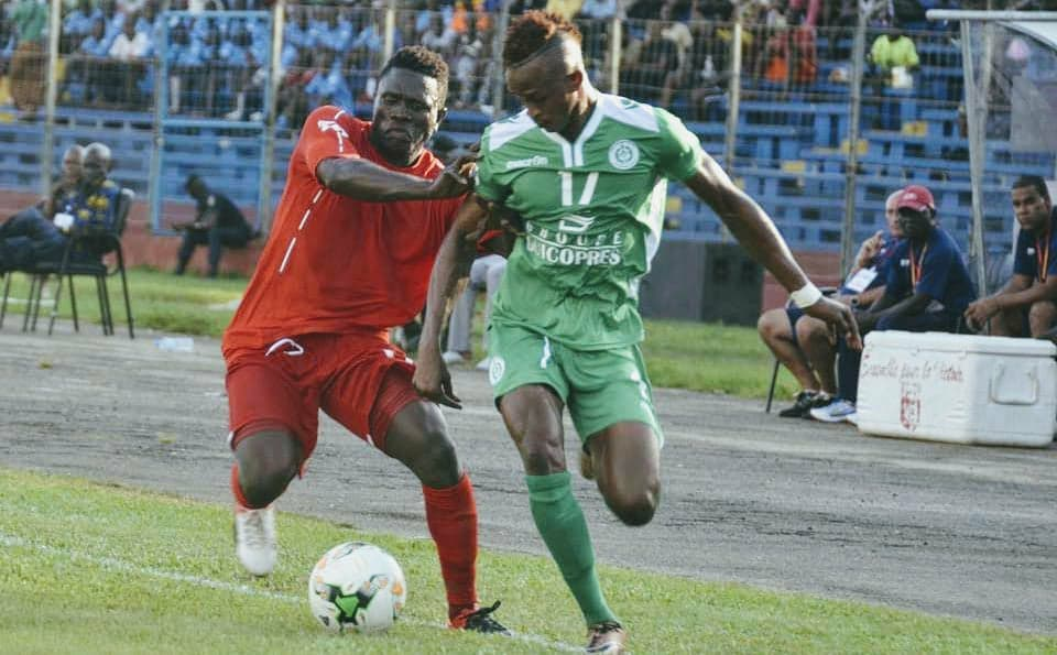alt=Prince Barrie in action for Hafia in the Guinean first-tier league