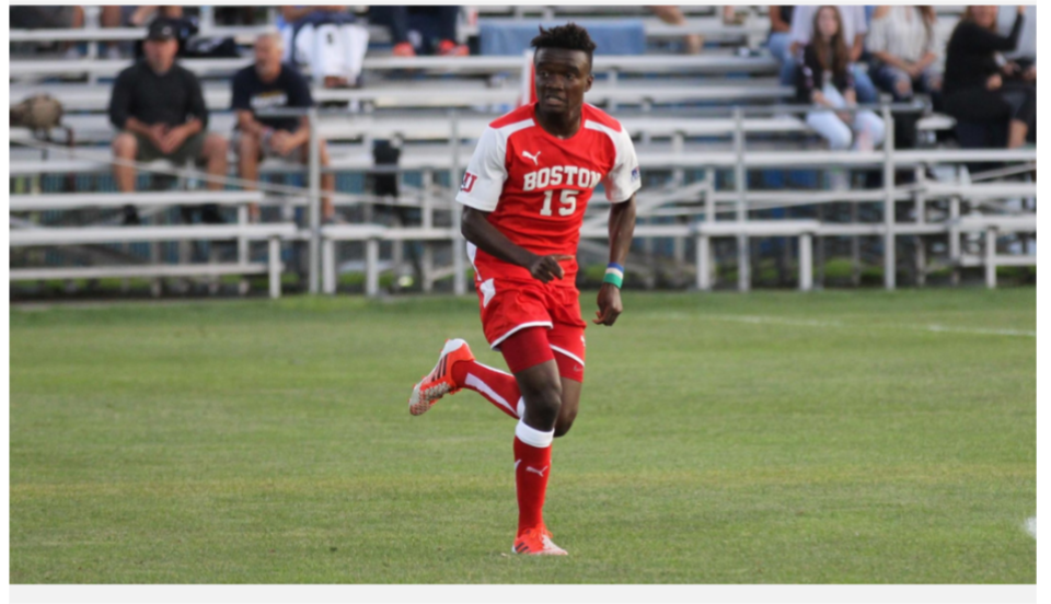 Boston University midfielder Kargbo eyes MLS Pro contract