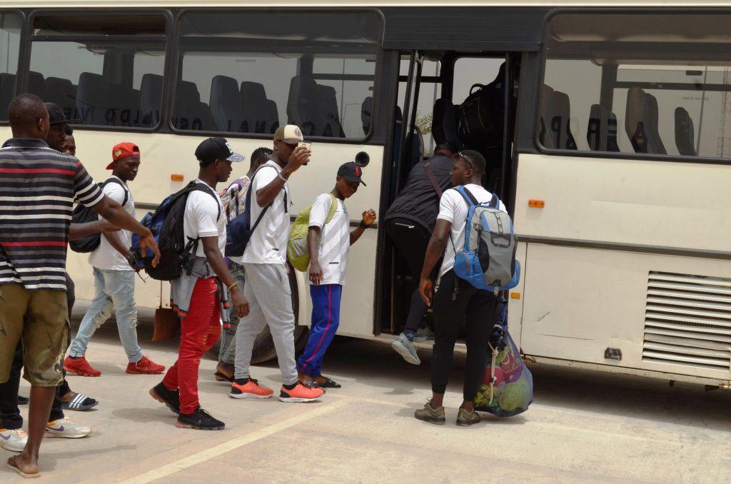 """Sierra Leone Shooting Stars arrived in Guinea Bissau """