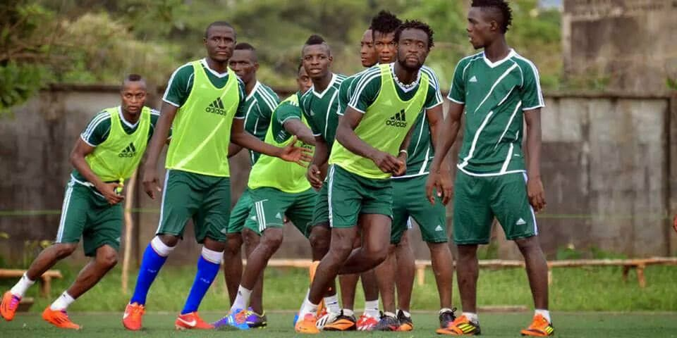 "alt=""Sierra Leone National men's team in training"""