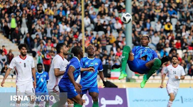 Iran/Sierra Leone friendly under Match-fixing scrutiny