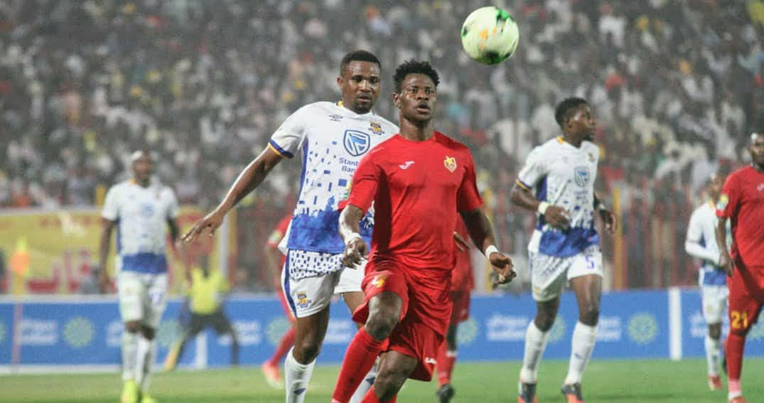 Fofanah breaks silence over exit from CAF Champions League