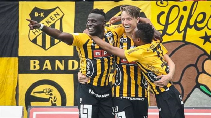 Kamara scores first league goal in Häcken's win