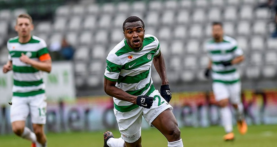 Christian Moses scores brace for new club Viborg FF