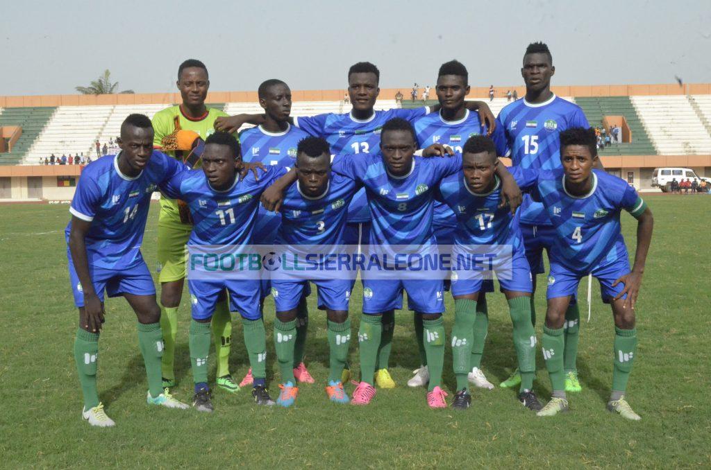 """Sierra Leone Shooting Stars starting X1 at the 24 de Setembro Stadium"""