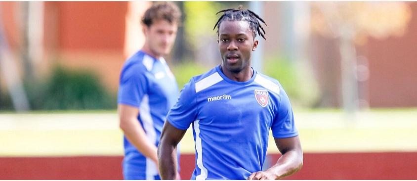 """""""FC Cincinnati confirm the signing of Sierra Leone midfielder Michael Lahoud"""""""
