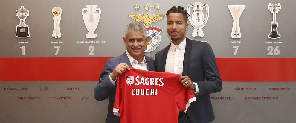 Nigeria young right-back Tyronne Ebuehi joins Benfica