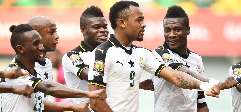 Jordan Ayew fires Ghana double to keep Afcon hopes alive