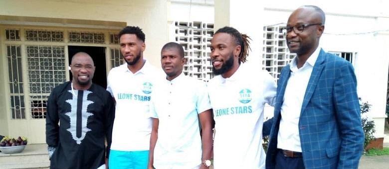 Sesay, Dumbuya boost Leone Stars camp ahead of trip to Liberia