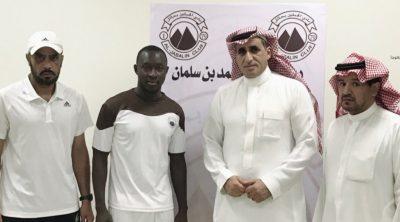 """Sierra Leone international Alfred Sankoh has signed Saudi Arabian club Al-Jabalain FC"""
